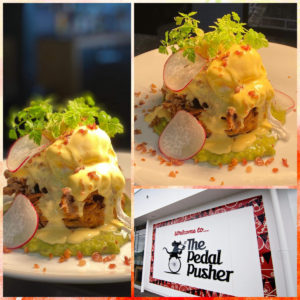 pulled pork eggs benny eggs benedict hollandaise potato hash cake best breakfast brunch lunch rolleston faringdon selwyn christchurch