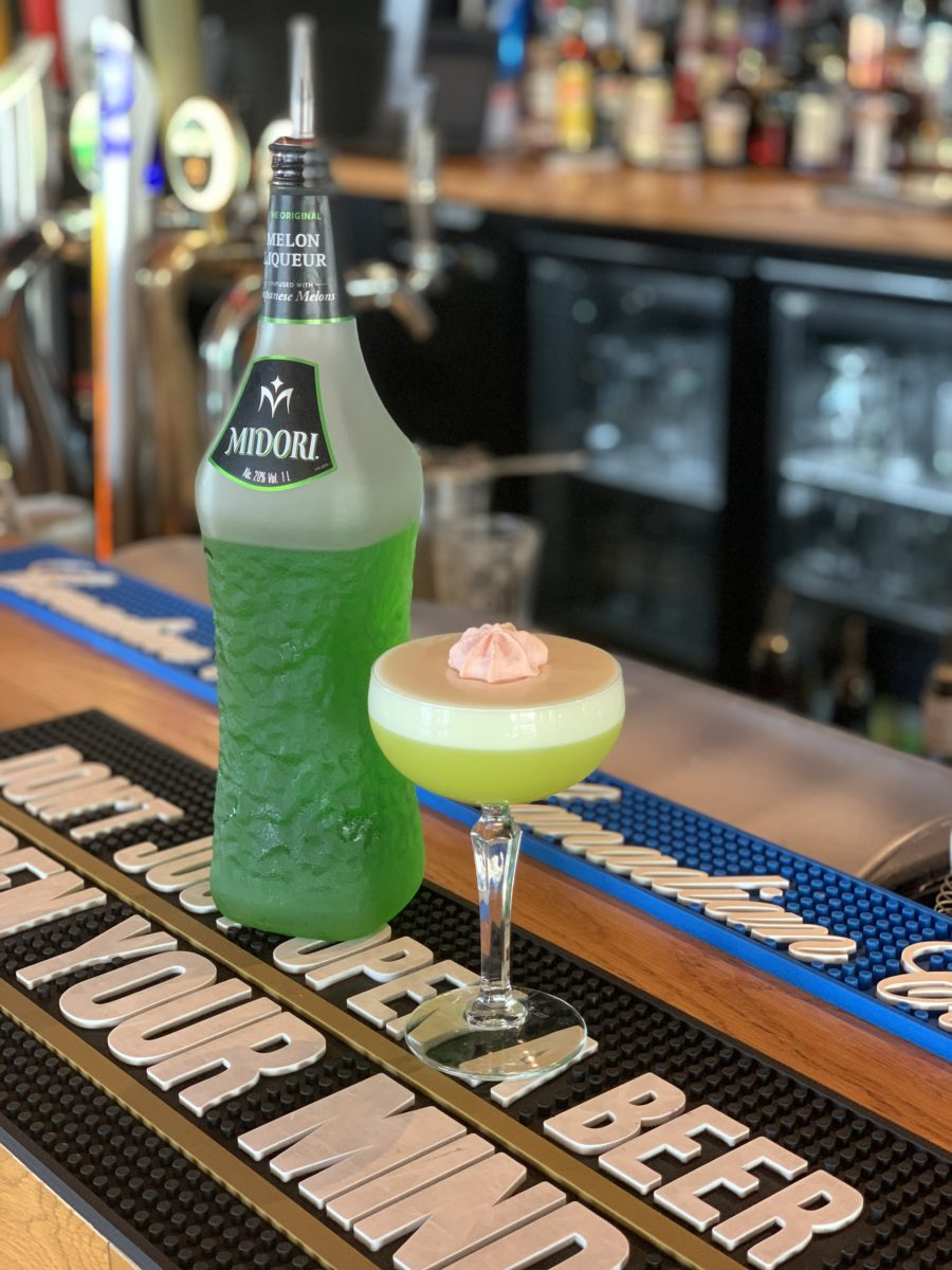 cocktail midori cointreau princess fiona bar pub rolleston bar cocktail bar best meringues