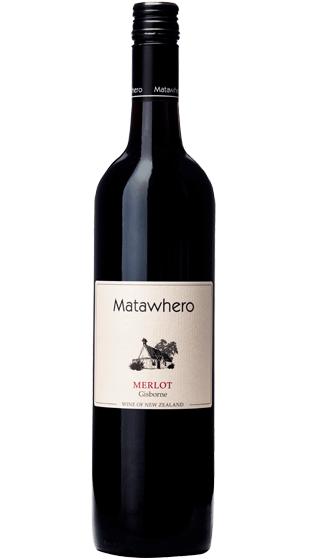 Matawhero Merlot Gisborne red wine nz new zealand red dry wine