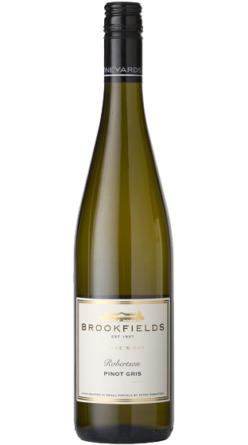 Brookfields 'Robertson' Pinot Gris Hawke's Bay NZ Wine New Zealand dry wine white wine