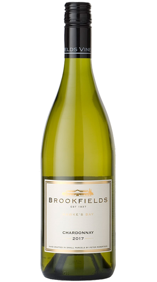 Brookfields Chardonnay nz wine new zealand hawkes bay