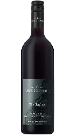Lake Chalice The Falcon Merlot Hawkes Bay Red wine nz wine new zealand dry