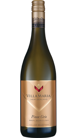Villa Maria Cellar Selection Pinot Gris Marlborough NZ Wine New Zealand Wine