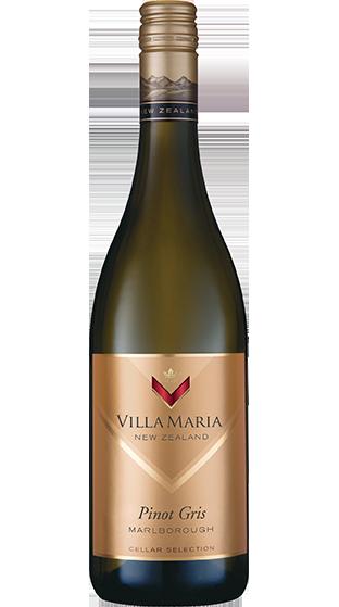 Villa Maria Cellar Selection Pinot Gris Marlborough NZ Wine New Zealand Wine