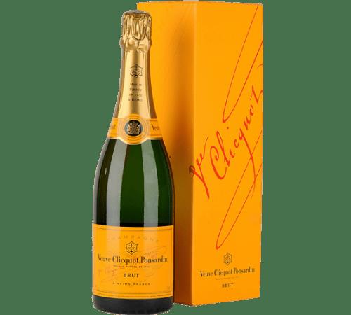Veuve Clicquot Champagne sparkling wine bubbly