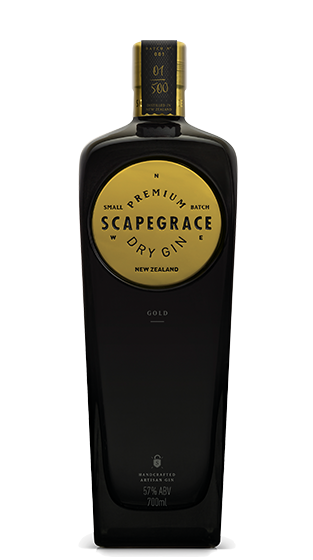 Scapegrace Gold Gin Premium NZ Gin Tonic Worlds Best London Dry Gin