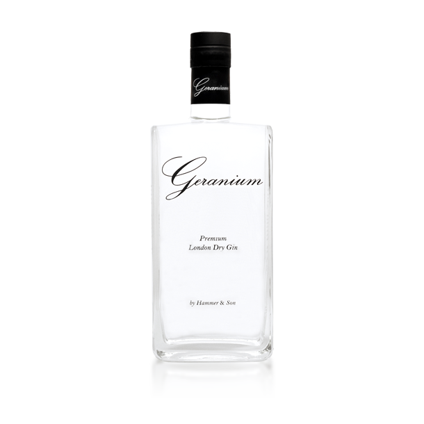 Geranium Gin Tonic Flowers