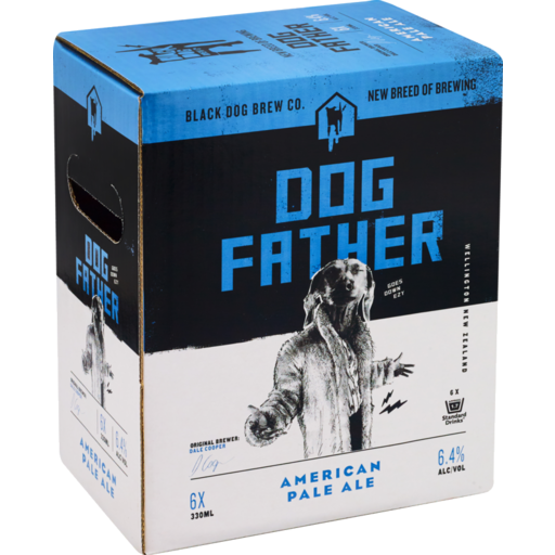 Black Dog Dog Father APA American Pale Ale Hops Hoppy Beer NZ New Zealand Wellington DB
