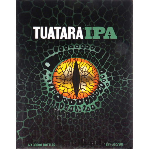 Tuatara IPA India Pale Ale Craft Beer NZ Beer New Zealand Kapiti Coast