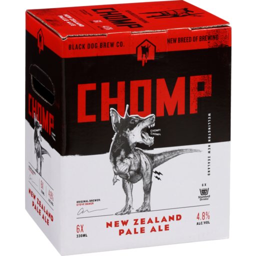 Black Dog Chomp Beer NZ Pale Ale Craft Beer New Zealand Beer Wellington