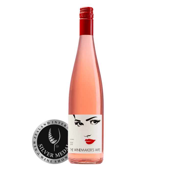 The Winemakers Wife Pinot Rosé Waipara NZ New Zealand Wine