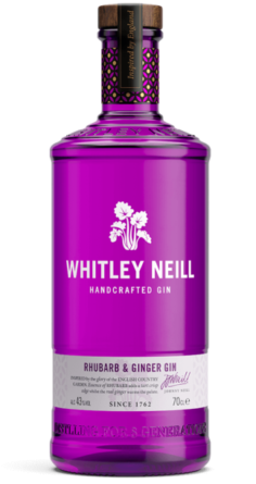 Whitley Neill Rhubarb And Ginger Gin London UK