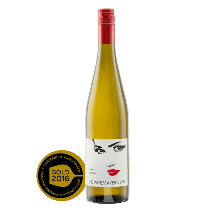 The Winemakers Wife Riesling Waipara NZ Wine New Zealand Dry wine